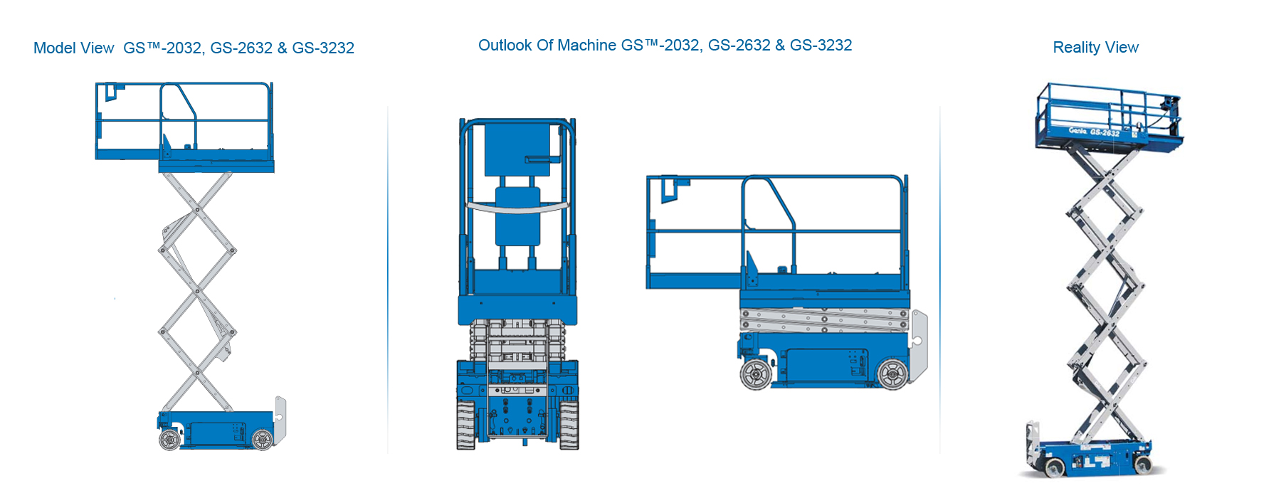 genie battery scissor lifts gs 2632 for sales services hire in rh sendhamarai com Genie AWP 30s Lift Genie Lift Parts Manual